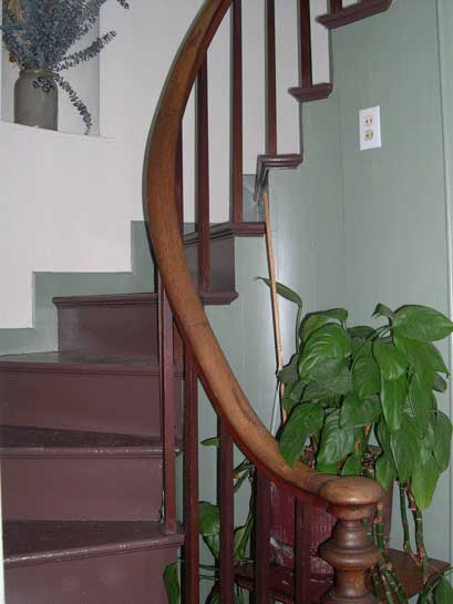 John Waterman House Staircase